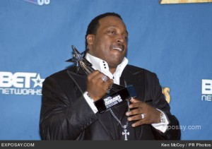 Marvin Sapp at The 2008 BET Awards.